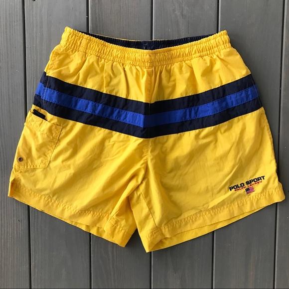 4e8df44fac VTG 90s Polo Sport Ralph Lauren Nylon Shorts Small.  M_5c439f9334a4ef6bfe9a2631